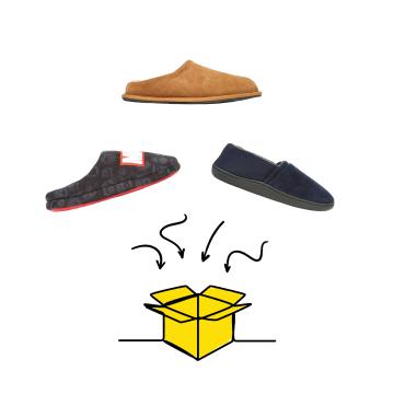 MEN'S SLIPPERS BOXX