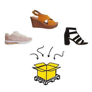 HIGH STREET SHOES SPRING&SUMMER PALLETBOXX